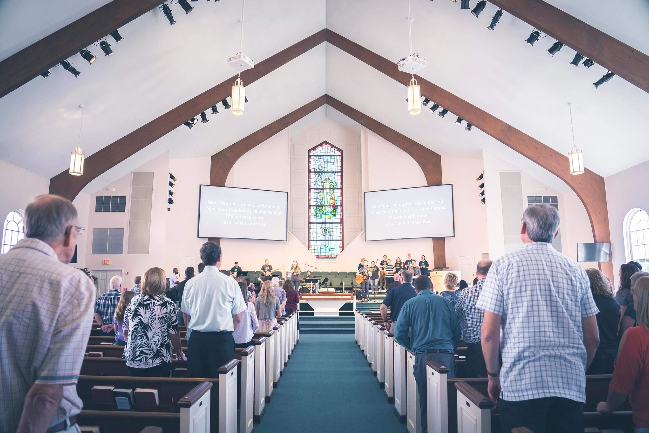 Pearce Church Sanctuary Rochester NY